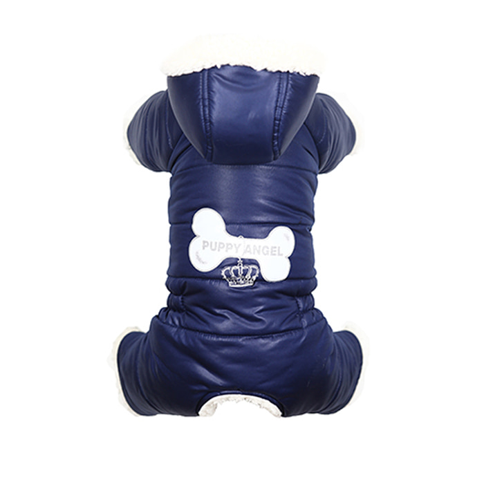 [PA-OW254] Puppy Angel Lovely Bone Padded Bodysuit For Boys